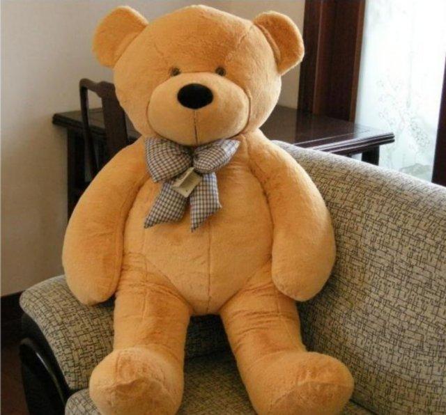 2 метров негабаритных плюшевый мишка кукла кукла ткани Большой медвежонка п